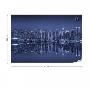 New York Reflections in Blue