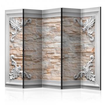 Paravan - Brick in the Frame (Orange) II [Room Dividers]