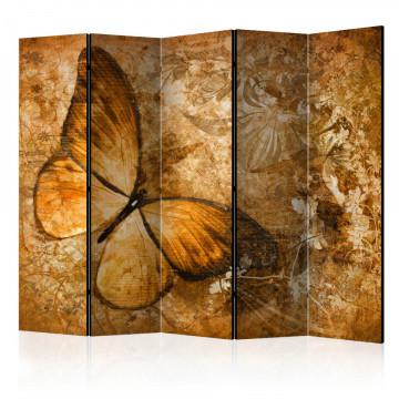 Paravan - butterfly (sepia) II [Room Dividers]