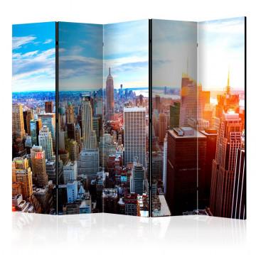 Paravan - Sunrise over Manhattan II [Room Dividers]