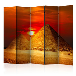 Paravan - The Giza Necropolis - sunset II [Room Dividers]