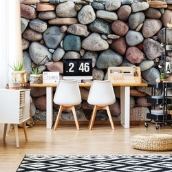 Pebble Texture Photo Wallpaper Wall Mural