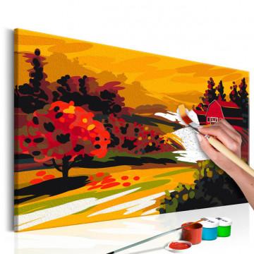 Pictatul pentru recreere - Autumnal Landscape