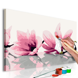 Pictatul pentru recreere - Magnolia (White Background)