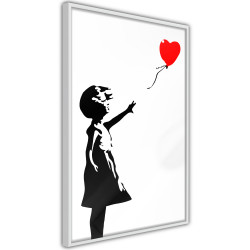 Poster - Banksy: Girl with Balloon I