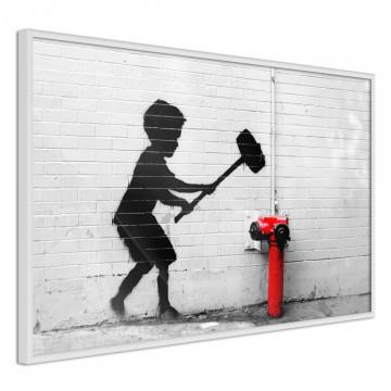 Poster - Banksy: Hammer Boy