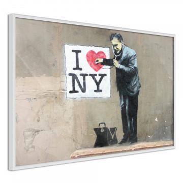 Poster - Banksy: I Heart NY