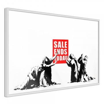 Poster - Banksy: Sale Ends