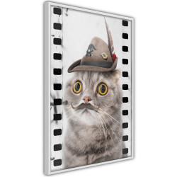 Poster - Dressed Up Cat