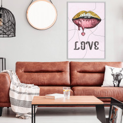 Poster - Lip Gloss and Love