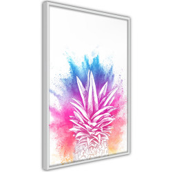 Poster - Rainbow Pineapple Crown