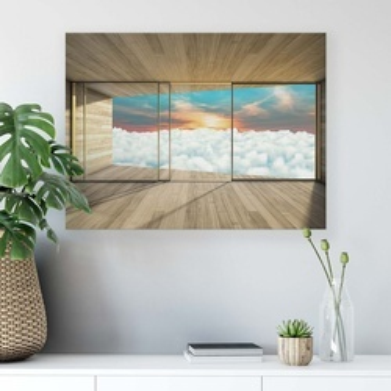 Sky & Clouds Canvas Photo Print