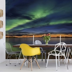 Sunset In Andenes Photo Wallpaper Mural