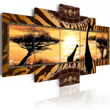 Tablou - African giraffes