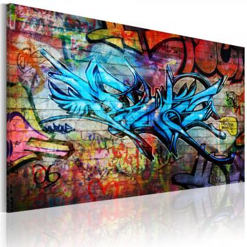 Tablou - Anonymous graffiti