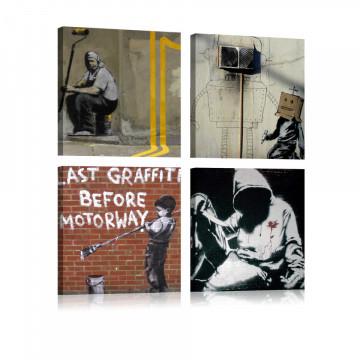 Tablou - Banksy - Street Art