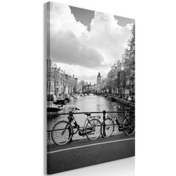 Tablou - Bikes On Bridge (1 Part) Vertical