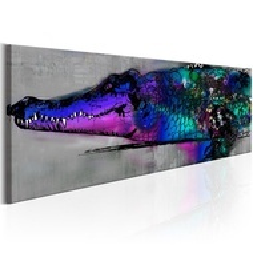 Tablou - Blue Alligator