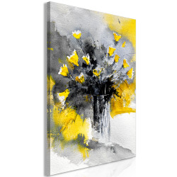 Tablou - Bouquet of Colours (1 Part) Vertical Yellow