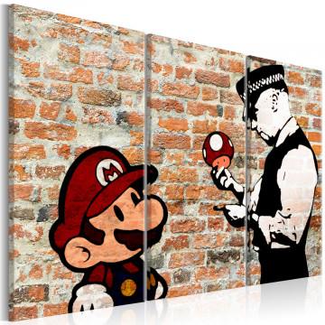 Tablou - Caught Mario