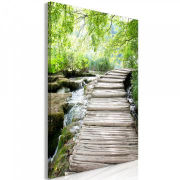 Tablou - Charming Path (1 Part) Vertical