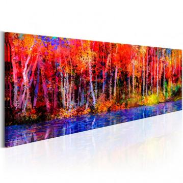 Tablou - Colorful Autumn Trees