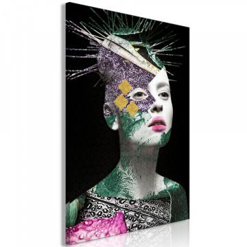Tablou - Colourful Portrait (1 Part) Vertical