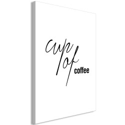 Tablou - Cup of Coffee (1 Part) Vertical