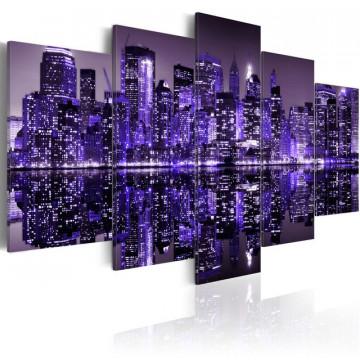 Tablou - Deep deep purple - NYC