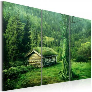 Tablou - Forest ecosystem