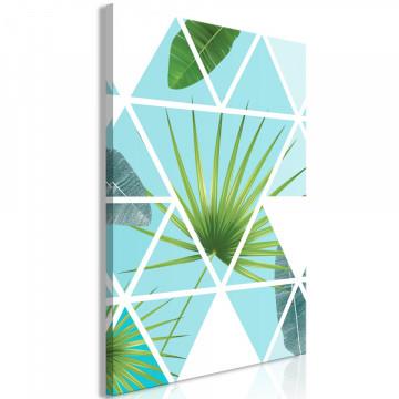Tablou - Geometric Palm (1 Part) Vertical