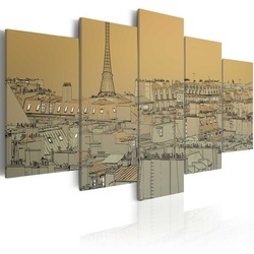 Tablou - Good old Paris (Vintage)