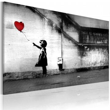 Tablou - hope (Banksy)