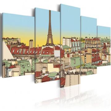 Tablou - Idyllic parisian picture