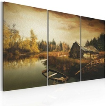 Tablou - Idyllic village - triptych