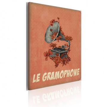 Tablou - Le gramophone