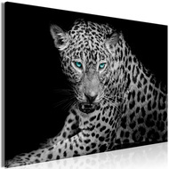 Tablou - Leopard Portrait (1 Part) Wide