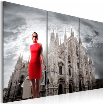 Tablou - Milan- the capital of fashion