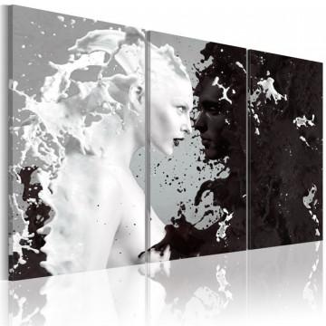 Tablou - Milk & Choco - triptych