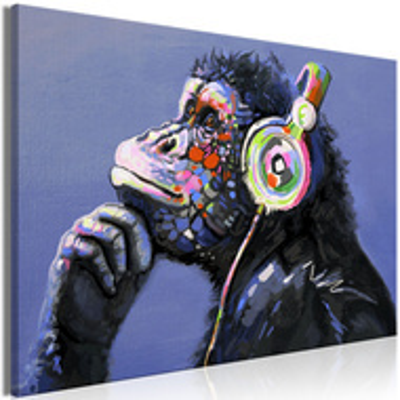 Tablou - Musical Monkey (1 Part) Wide