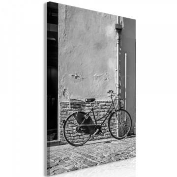 Tablou - Old Italian Bicycle (1 Part) Vertical