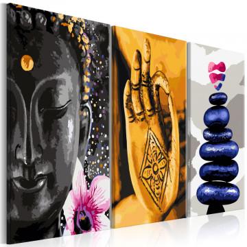 Tablou - Oriental Triptych (3 Parts)