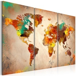 Tablou - Painted World - triptych
