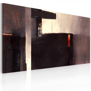 Tablou pictat manual - An underground passage