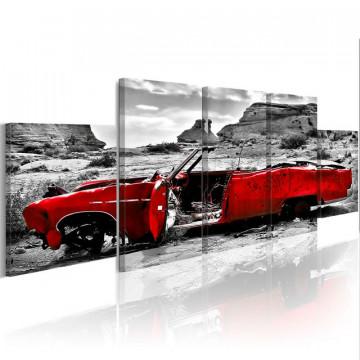 Tablou - Red banger (Retro style)