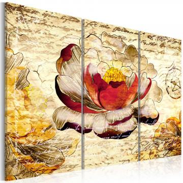 Tablou - Retro flower