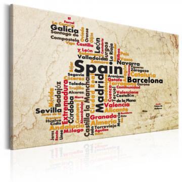 Tablou - Spanish Cities (ES)