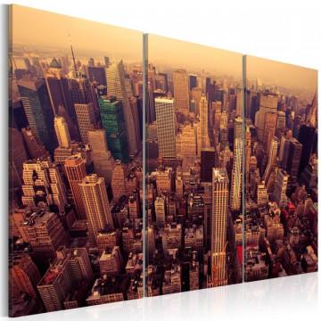 Tablou - Sunset over New York