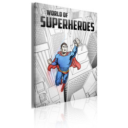 Tablou - World of superheroes