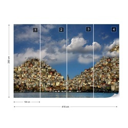 The Midpoint Photo Wallpaper Mural